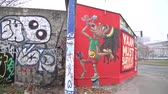 exército : BERLIN,GERMANY- MARCH 2: a piece of the East Side Gallery (ex Berlin Wall) will be demolished to build luxury apartments. News which shocked public opinion on March 2,2013 in Berlin-Germany.