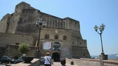 neapel : Neapel - Castel dell'Ovo Stock Footage