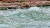 ocidental : River Rapids in Colorado River in Grand Canyon National Park Vídeos