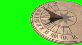 Sundial full day animation (on green screen) Dostupné videozáznamy