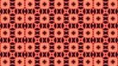 猫 : poly art kaleidoscope pink black for VJ Fractal Background 動画素材