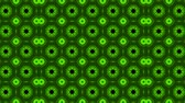 kočička : poly art kaleidoscope green black for VJ Fractal Background