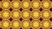 kočička : poly art kaleidoscope gold Yellow black    for VJ Fractal Background