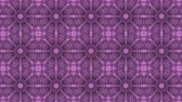 caleidoscoop : poly art kaleidoscope purple black flower for VJ Fractal Background