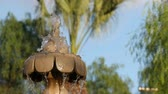 waterworks : Water Fountain Slow Motion water. Stock Footage
