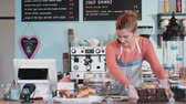 till : Portrait of Cake shop Small business owner