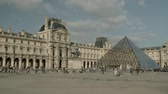 budowa : The Louvre in Paris France Wideo