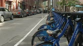 коммутирующих : Citibike Station in Dumbo, Brooklyn 4K Ultra HD