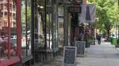 yeni : Trendy Brooklyn Storefronts Stok Video