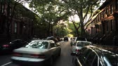 автомобиль : Cars pass camera in Park Slope Brooklyn