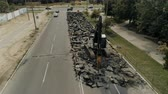 suť : Overhaul of the road, flying around the place of repair