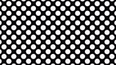 samenstelling : Dynamic Black And White Composition With Dots Scaling. 4k animation pack of a black and white background. Seamless loop Stockvideo