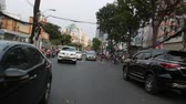 lambreta : SAIGON - JULY 25: Road Traffic on July 25, 2018 in Saigon (Ho Chi Minh City), Vietnam Vídeos