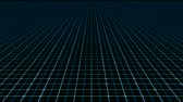 praça : Technology grid animation technology backgorund. Seamless looping video animation.- Stock Footage