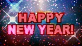 brillant : Happy New Year! Party time! HD pince transparente en boucle. - Vidéos Libres De Droits