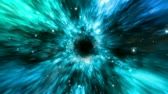 souhvězdí : Zooming fast animation of an abstract outer space wormhole like tunnel. Multiple layers and lots of color and depth. Seamless looping video animation.