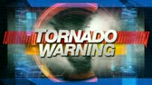 digitalmente : Tornado Warning graphic main title - Time-lapse custom composited animation of a massive hurricane. 5 total layers of depth to create a very realistic look and feel. Fractional parts of imagery sourced from the amazing public domain images from http:www Stock Footage