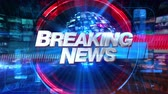 газета : Breaking News - Broadcast Graphics Title Animation 4K