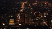 jezera : Salt Lake City Nighttime