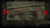 Economic crisis animated background