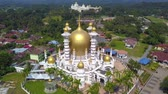 ibadethane : Aerial View Of Beautiful Mosque In Kuala Kangsar, Malaysia