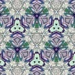 tribo : Unique rendering, Abstract exotic animation, Fantastic design, Colorful digital art, geometric kaleidoscope Stock Footage