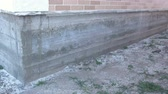 rolamento : Tape Concrete Foundation of a country house.