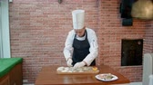 ahtapot : Step by step process of making dumplings, ravioli or pelmeni with seafood filling
