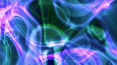 UHD camera fly-through looping abstract motion 3D animated background