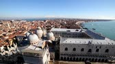 anténa : aerial view of the city of Venice Italy from the Campanile of San Marco