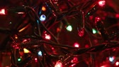 flashing light led decoration of a Christmas tree