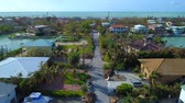 konak : Aerial inspection Florida Keys homes aftermath Hurricane Irma 4k