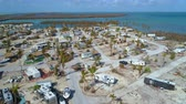 törött : Aerial Florida Keys after Irma