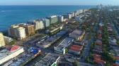 Aerial video Surfside Miami Beach FL
