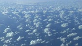 ano : Flying above the clouds and the ocean. Actual high altitude HD footage.