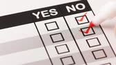 approved : Person choosing negative answer, no to all check boxes
