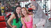 moslem : women after working out together