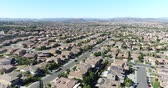 new house : Overhead Ultra High Definition 4k Aerial of a United States Neighborhood.