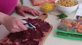 fermuar : Beef steaks. Make ahead freezer meals for a month