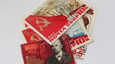 coletor : Stamps of the Union of Soviet Socialist Republics. Of the