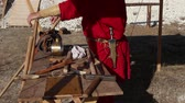 namiot : Roman Armourer. Gunsmith tools in ancient Rome