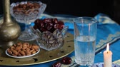 конфета : The daily fast during Ramadan. Muslims break their fast at the time of the call to prayer for the evening prayer