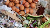 leftover : Composting Materials. Leaves, grass clippings, food scraps, coffee, tea, shredded newspaper, tissues, cardboard, egg cartons, paper, eggshells