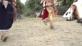 meksyk : Indian Dance Native American. Tribe of the Indians