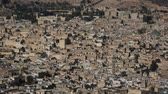 cami : Fes City Morocco Fes city overview.North Africa. Stok Video