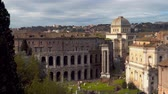 anfiteatro : The Theater of Marcellus is an ancient open-air theater in Rome, Italy,