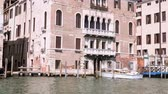 Building near the Grand Canal in Venice Italy