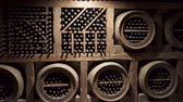 beczka : A wine cellar is a storage room for wine in bottles or barrels ,. Wideo