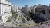 metropolitan : Sao Paulo City in Brazil, South America Stock Footage