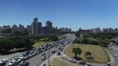 View of Radial Leste Avenue, in Sao Paulo, Brazil